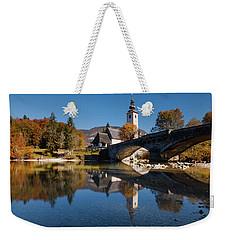 St. John The Baptist On The Lake Bohinj Weekender Tote Bag