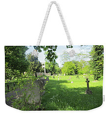 St. Johns Parish Church Cemetery - Harrow Road - Wembley Weekender Tote Bag