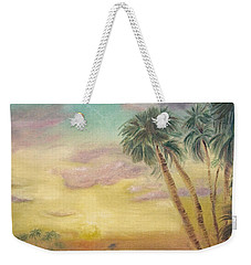 St. Johns Sunset Weekender Tote Bag by Dawn Harrell