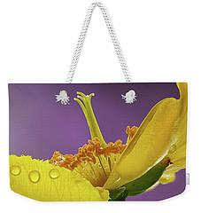 St Johns Wort Flower Weekender Tote Bag