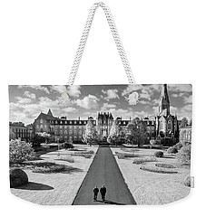 Weekender Tote Bag featuring the photograph St Joseph's Square At Maynooth University - Kildare, Ireland by Barry O Carroll