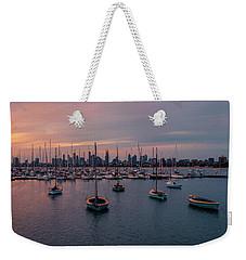 St. Kilda Breakwater Weekender Tote Bag