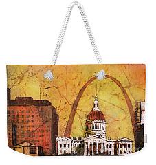St. Louis Archway Weekender Tote Bag by Ryan Fox