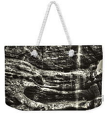 St Louis Canyon At Starved Rock State Park Weekender Tote Bag