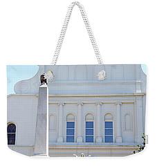 St. Louis Cathedral Back Lawn Weekender Tote Bag