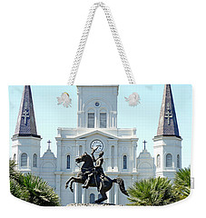 St. Louis Cathedral From Jackson Square Weekender Tote Bag