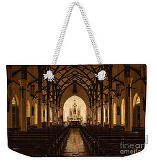St. Louis Catholic Church Of Castroville Texas Weekender Tote Bag