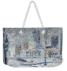 St. Louis Downtown Old Courthouse Weekender Tote Bag