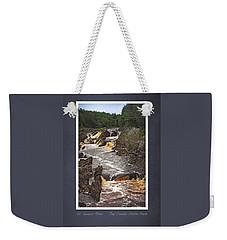St Louis River Scrapbook Page 3 Weekender Tote Bag