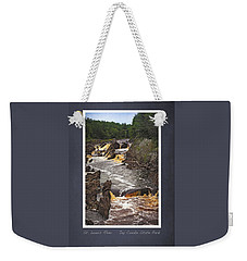 St Louis River Scrapbook Page 3 Weekender Tote Bag