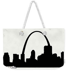 St Louis Silhouette With Boats 2 Weekender Tote Bag