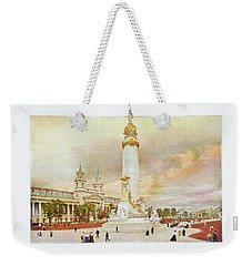 St. Louis World's Fair Louisiana Purchase Monument Weekender Tote Bag by Irek Szelag