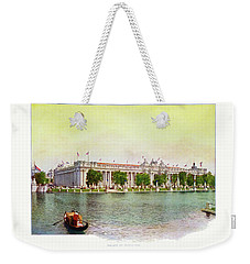 St. Louis World's Fair Palace Of Education Weekender Tote Bag by Irek Szelag