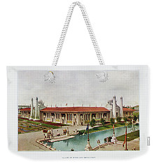 St. Louis World's Fair Palace Of Mines And Metallurgy Weekender Tote Bag by Irek Szelag