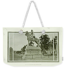 St. Louis World's Fair Statue Of De Soto Weekender Tote Bag by Irek Szelag