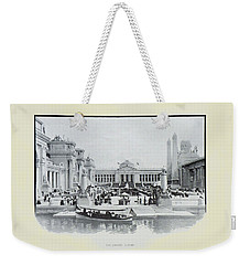 St. Louis World's Fair The Sunken Garden Weekender Tote Bag by Irek Szelag