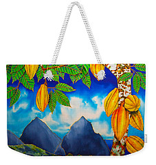 St. Lucia Cocoa Weekender Tote Bag