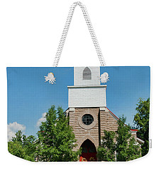 Weekender Tote Bag featuring the photograph St. Mark's Episcopal Church by Trey Foerster