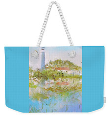 St Marks Lighthouse Weekender Tote Bag