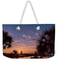 St. Marks National Wildlife Refuge Sunrise Weekender Tote Bag