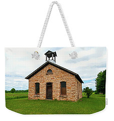 Weekender Tote Bag featuring the photograph St Martin's School by Trey Foerster