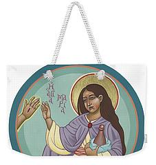 St Mary Magdalen  Rabboni -  John 20 16 Weekender Tote Bag