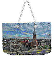 St. Mary Parish Portrait Weekender Tote Bag