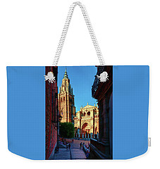 St Mary's Cathedral - Catholic Cathedral In Toledo, Chair Of The Primate Of Spain, The Main Cathedra Weekender Tote Bag