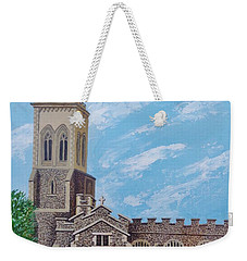 St. Mary's In England Weekender Tote Bag by Katherine Young-Beck