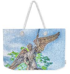 St Michael The Archangel Weekender Tote Bag
