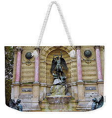 St. Michael's Fountain Weekender Tote Bag