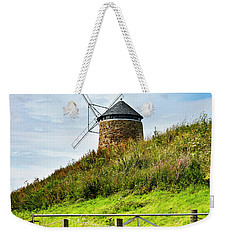 Weekender Tote Bag featuring the photograph St Monans Landmark by MaryJane Armstrong