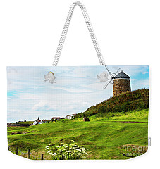 St Monans Windmill Weekender Tote Bag by MaryJane Armstrong