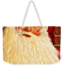 St. Nicholas Melting Canvas Photoart Weekender Tote Bag