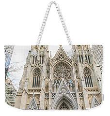St. Patrick Cathedral In New York Weekender Tote Bag