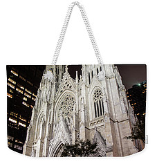 St Patrick Cathedral New York Weekender Tote Bag