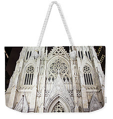 St Patrick Cathedral Nyc Morning  Weekender Tote Bag