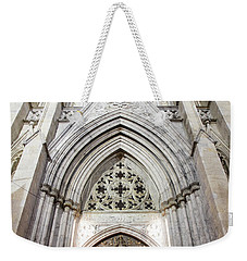 St Patrick's Cathedral Door  Weekender Tote Bag