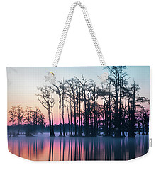 Weekender Tote Bag featuring the photograph St. Patrick's Day Sunrise by Cindy Lark Hartman