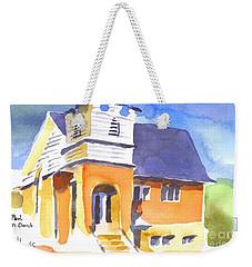St Paul Lutheran 3 Weekender Tote Bag by Kip DeVore