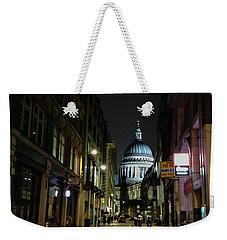 St. Pauls By Night Weekender Tote Bag