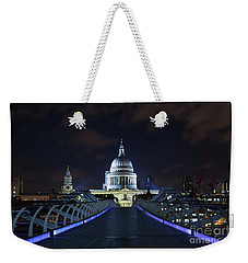 St Paul's Cathedral And The Millennium Bridge Weekender Tote Bag