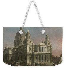 St. Paul's Cathedral Weekender Tote Bag by Giovanni Antonio Canaletto
