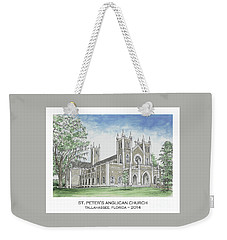 St. Peter's Anglican Church Weekender Tote Bag