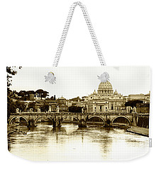 Weekender Tote Bag featuring the photograph St. Peters Basilica by Mircea Costina Photography