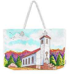 St. Peter's Catholic Church, Fayette, Mi Weekender Tote Bag