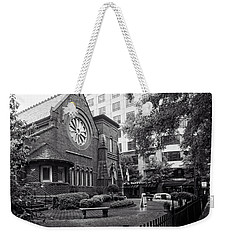 St. Peter's Episcopal Church In Black And White Weekender Tote Bag