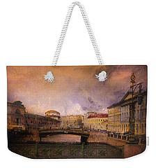 St Petersburg Canal Weekender Tote Bag