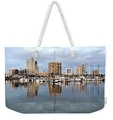St Petersburg Marina Weekender Tote Bag