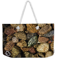 Pete's River Rocks Weekender Tote Bag